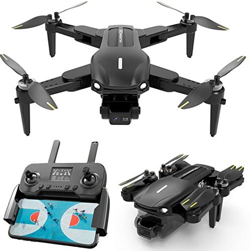 lxymyxl Droni con Fotocamera per Adulti, Drone GPS con Fotocamera Gimbal 4K a 3 Assi, 90 Minuti Tempo di Volo 1.2 Km a Lungo Raggio Quadcopter Professionale Brushless 5G FPV Trasmissione