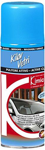 Kimicar Marine, Pulitore Vetri e Cristalli Spray Unisex – Adulto, Bianco, 200 ml