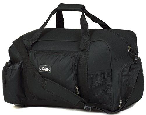 Andes - Sporttasche/Reisetasche - Schwarz - 40 Liter