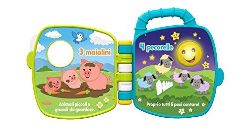 Fisher-Price - Amici della Fattoria 123, Imparare Parole, Lettere e Numeri, per Bambini da 6+ Mesi, GFP34