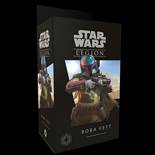 Star Wars: Legion - Boba Fett (deutsche Ausgabe) FFGD4613 Board Game & Extension, Mehrfarbig