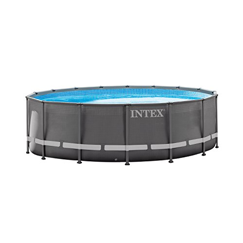 Intex Ultra Frame Rectangular Pool Set with Sand Filter Pump