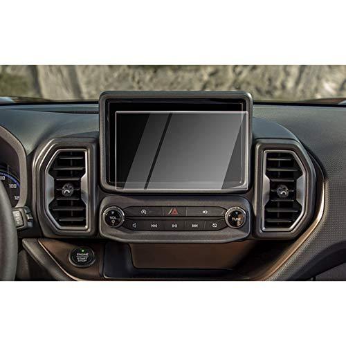 CDEFG Screen Protector for Bronco Sport 2021: Car Navigation Display Touch Screen Protector for 2021 Bronco Sport SYNC3 8 Inch Tempered Glass Screen Protector Foils