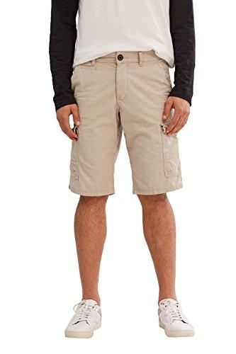 edc by ESPRIT Herren 037CC2C001 Shorts, Beige (Light Beige 290), 48 (Herstellergröße: 32)