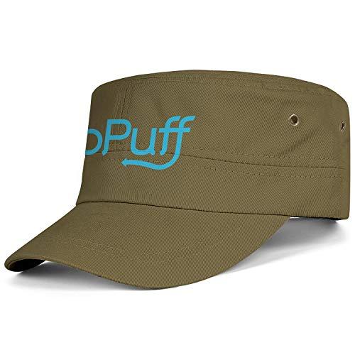 GRFF Unisex Cadet Cap Cool Army goPuff- Military Cap