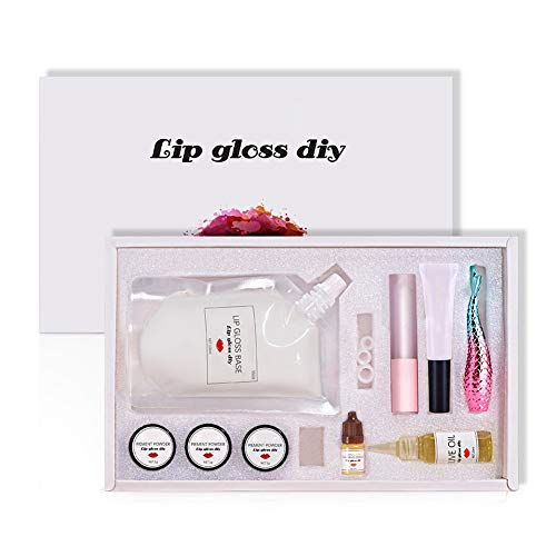 weixinbuy Moisturizing Transparent Lip Gloss Base DIY Lip Gloss Lip Gloss Glaze Lipstick Material Is Used To Make Your Own Lipstick Maximize DIY Lip Balm Lip Balm Organic Lip Balm.