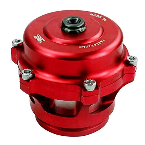 ZYT Zytang® Coche 50 mm turbocompresor bov Turbo Soplo Apagado válvula válvula de Alivio Rojo