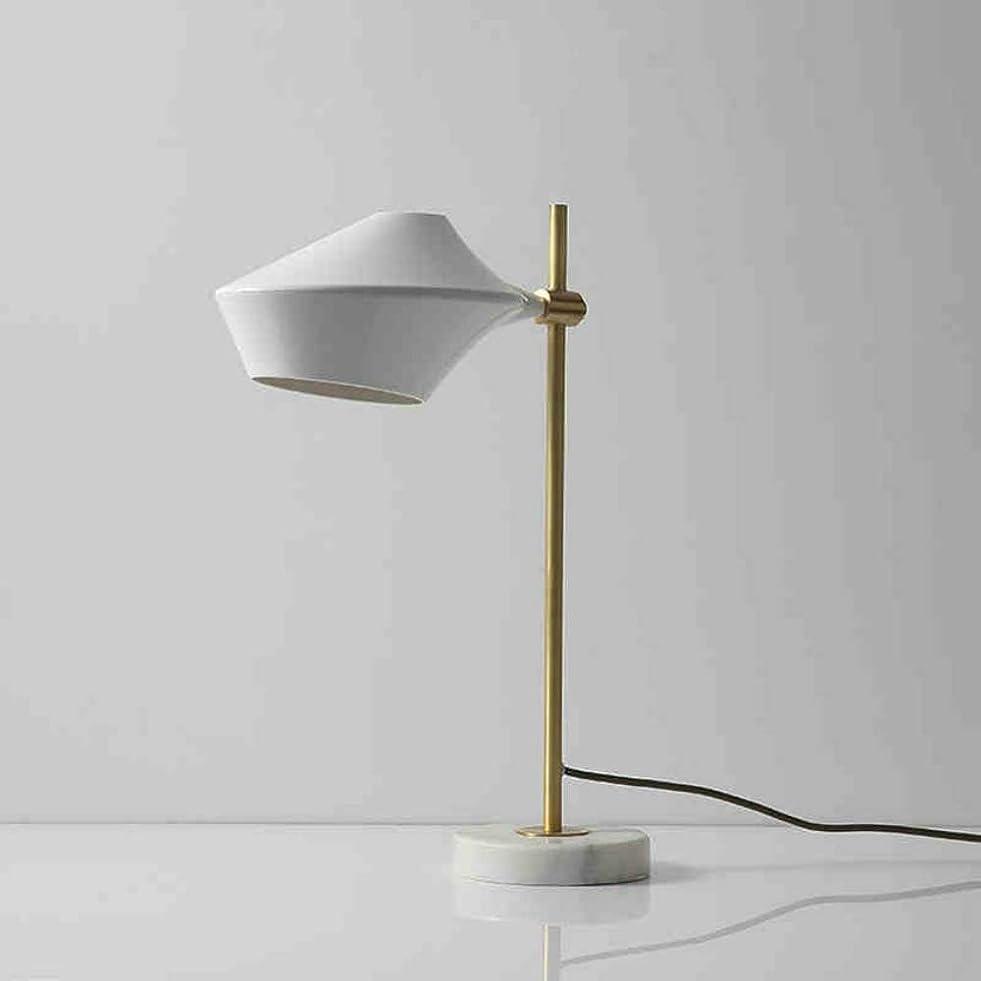 アルバニークマノミ横にポストモダンLed銅テーブルランプリビングルーム照明器具北欧暖かいデスクライトシンプルなデスクトップ装飾ライト寝室