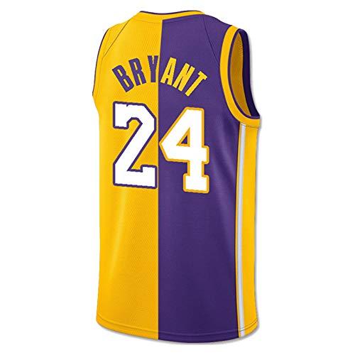 CNMDG Lakers 8# 24# Black Mamba Koba Bryant Jersey, Edición Conmemorativa Retro Camiseta de Baloncesto, 2021 Fan Jersey Ropa de Entrenamiento T-Shirt Regalo (XS-XXL) kobe2-M