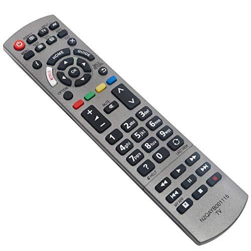 ALLIMITY N2QAYB001115 Reemplace el Mando a Distancia por Panasonic Viera TV TX-40EX700B TX-40EX700E TX-49EX610E TX-49EX613E...
