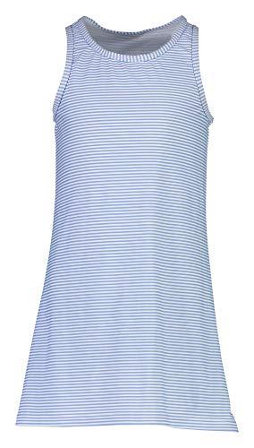 Snapper Rock - UV-Badekleid für Mädchen - Striped - Blau/Weiß
