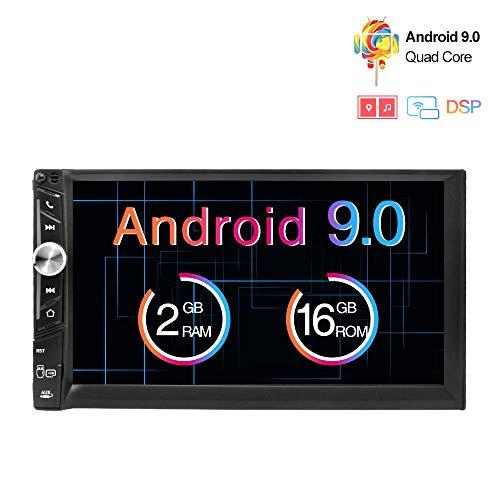 Freeauto Android 9.0 2 DIN Autoradio Universal, GPS Navegador Radio para Coche...