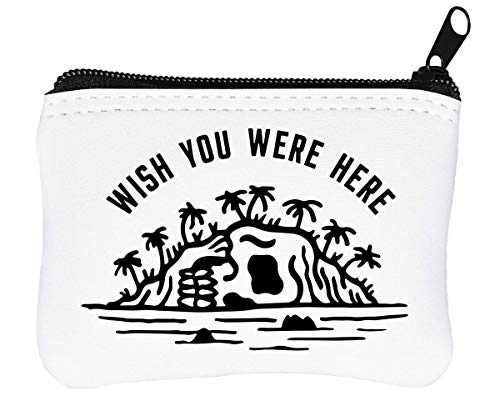 Wish You were Here Billetera con Cremallera Monedero Caratera