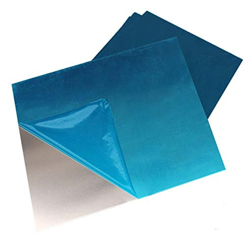Geeyu ZHaonan-Metal plate 150x150mm Aluminum Plate Sheet Board Pure AL Plates Frame For 3D Printer DIY Heated Bed Heatbed, 0.5mm 1mm 2mm 4mm 8mm, Grounding (Width : T1.5x150x150mm)