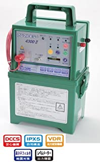 タイガー 電気柵 アニマルキラー 4300DC2 【防雨型】 【12V電池タイプ】 電柵 電気牧柵