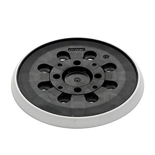 Bosch Schleifteller (Ø 125 mm, mittelhart, mit Klettsystem, Zubehör für Exzenterschleifer PEX 300/400 AE)