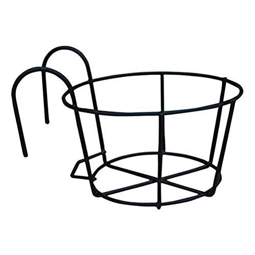 Keemov Soporte de alambre de hierro para colgar maceteros de metal para macetas, jarrones, cubos,...