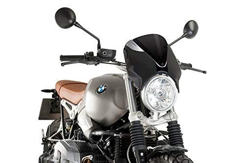 Puig 9338N Windschild RetroVision z.B. BMW R nineT Scrambler 2016- Verkleidung s Set