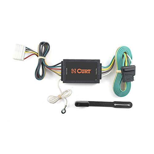 CURT 56038 Vehicle-Side Custom 4-Pin Trailer Wiring Harness for Select Acura MDX SUV