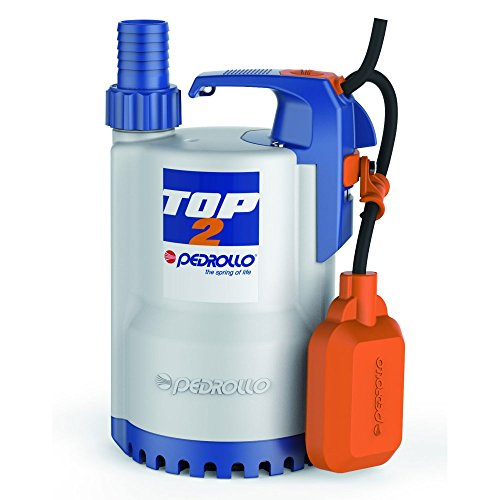 Dompelpomp Drainage elektrische pomp helder water TOP2 5 m 0,5 pk 240 V pedrol