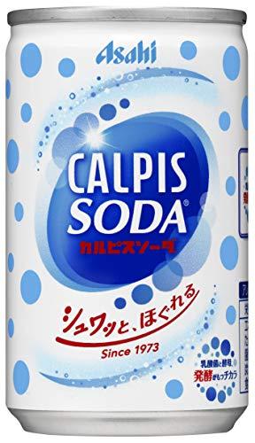 カルピスソーダ 160ml×30本 缶