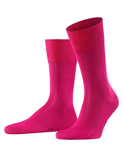 FALKE Herren Socken Tiago - 95% Baumwolle, 1 Paar, Rosa (Berry 8390), Größe: 41-42