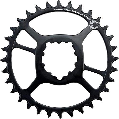 SRAM X-Sync 2 - Cadena de Acero para Hombre (6 mm, 30 Dientes), Color Negro