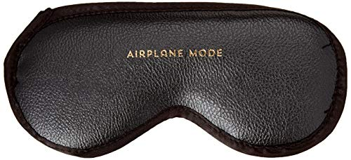 C.R. Gibson Leatherette Blindfold, Sleep Mask - Airplane Mode, One Size