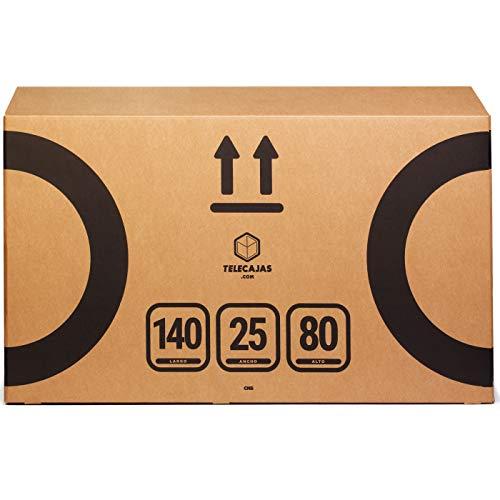 TeleCajas | Caja de Cartón para Bicicleta | 140x25x80 cms
