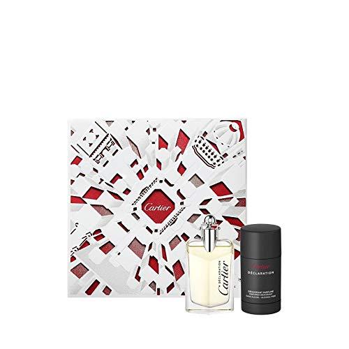 Cartier Set Déclaration Eau de Toilette 50 ml - Desodorante Stick 75 ml 125 ml