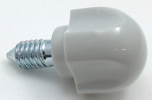 New KitchenAid Stand Mixer Attachment Thumbscrew Gray, AP3921171, PS1156354, 9709196