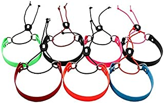 Full Grip Supply 3/4'' Biothane E-Bungee Collar Small 8''-16'' Neck Size Quick On/Off E-Collar Strap Fits Educator Dogtra