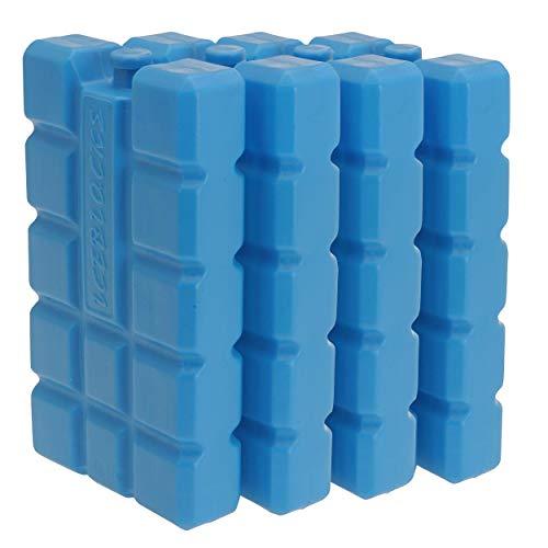 Oramics Kühlakkus Groß und Flach – je Kühlelement 400 ml – Kühlakku für Kühltasche und Kühlbox, Auslaufsichere Kühlpack zum Kühlen von Essen und Getränken (4 Stück)