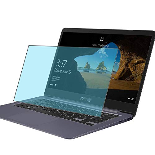 Vaxson 2 Unidades Protector de Pantalla Anti Luz Azul, compatible con Asus VivoBook S14 S406UA 14' [No Vidrio Templado] TPU Película Protectora