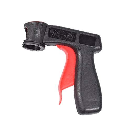 Xuba Portable Spray adaptateur Aérosol Pistolet Poignée avec grip complet Trigger verrouillage Collier noir/rouge