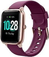 YAMAY Smartwatch,Fitness Armband mit Pulsuhren Fitness Tracker Wasserdicht IP68 Fitnessuhr Sportuhr Schrittzähler für...