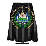 El Salvador Seal USA Flag Salon Hair Cutting Cape Cloth Barber Hairdressing Wrap Haircut Apron Cloth Styling Accessory For Unisex