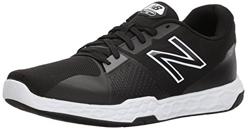 New Balance Men's Fresh Foam 713 V3 Cross Trainer, Black, 7.5 D US