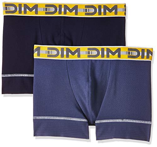 Dim 3D Flex Stay & Fit Bóxer, Azul (Azul Cobalt/Azul Orage 6xq), Medium (Pack de 2) para Hombre