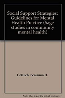 Social Support Strategies: Guidelines for Mental Health Practice