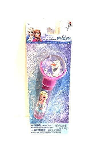 Townley Girls Lip Balm with Bouncy Ball Top Frozen