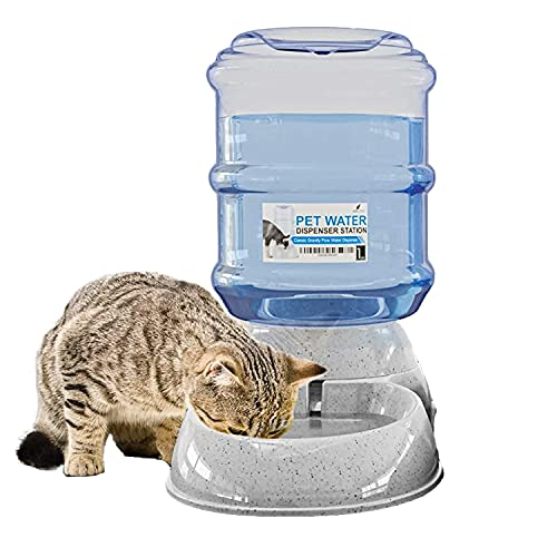 Noa Store Automatic Water Dispenser for Cats and Dogs - Gravity Water Bowl for Cats and Dogs - Pet...