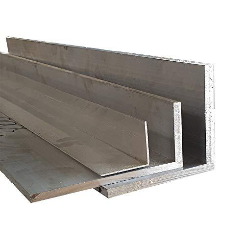 Aluminium Winkel Aluprofil Alu L Profil Aluwinkel Aluminiumprofil Winkelprofil (40 x 40 x 4 mm, Länge: 1.000 mm)