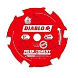 5 X 6 FIBER CEMENT BLADE CARDED