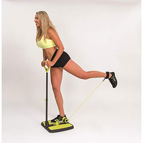 Booty Max Home Workout Resistance Band Training for Making Summer-Ready Toned Bigger Butt, Thighs, Quads, Calves, or Arms (As Seen on Television)
