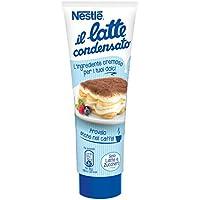 Leche condensada Nestlé Endulzada concentrada entera Ideal para tubo de recetas dulces, 170 g