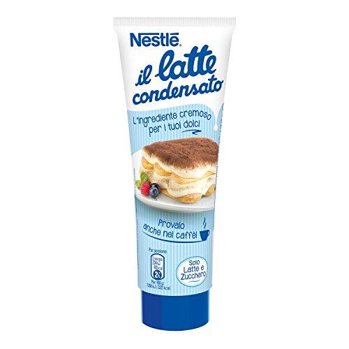 Nestlé il Latte Condensato Latte Intero Concentrato Zuccherato Ideale per Ricette Dolci Tubo, 170g