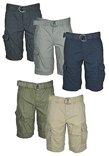 PME Legend Herren Shorts Kurze Jeans Hose Cargo Bermudas PSH184651 Bermuda Short (Blau, 29)