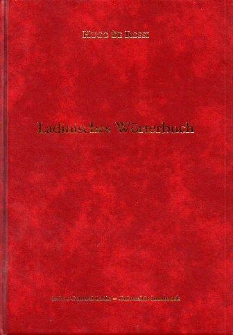 Ladinisches Wörterbuch = Vocabolario ladino (brach) - tedesco