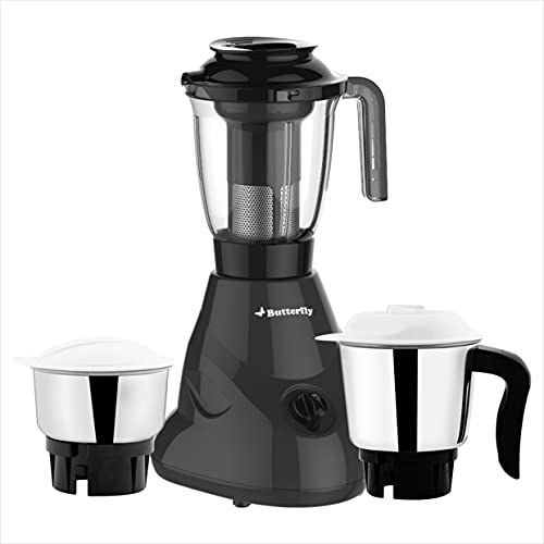 Butterfly Hero Plus Mixer Grinder 550 W, Grey, Small